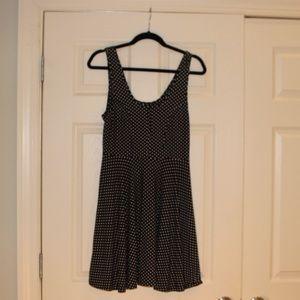 Black and White polka dot Free People dress